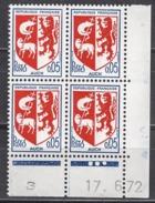FRANCE 1966 - Y.T. N° 1468 - BLOC DE 4 TP NEUFS** Y86 - 1960-1969