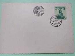"Poland 1960 Special Cancel """"76"""" Postcard Pulawy - Warsaw Monuments Mermaid - 1944-.... Republic"
