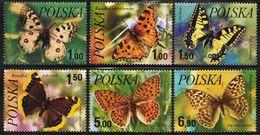 Poland - Butterflies #2227-32(6) - MNH - Schmetterlinge