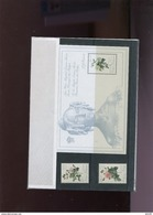 Belgie Thematische Map Nr 9 2318/19 BL65 Redouté Roses Flowers Monarchie Uitgifteprijs 140fr !!! - Cartes Souvenir