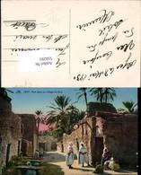 550293,Africa Algeria Alger Rue Dans Un Village Du Sud Types Arabes - Ohne Zuordnung