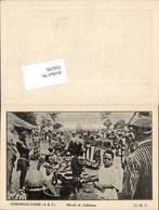 Africa Kamerun Camerun Oubangui-Chari Colonie Bangui Marche Calebasses - Ansichtskarten
