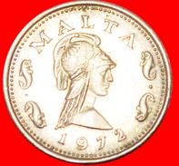 § 4 DOLPHINS: MALTA ★ 2 CENTS 1972! LOW START★ NO RESERVE! - Malte