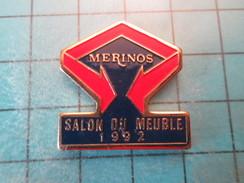 Pin1214e Pin´s Pins / Beau Et Rare : MARQUES / MERINOS SALON DU MEUBLE 1992 - Badges