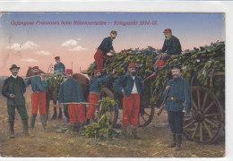 Gefangene Franzosen Beim Rübenverladen - 1915 Zensur Geldern - War 1914-18