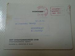 D152414  Advertising Paper Item  PERITOL   - EGYT Medicina Hungary - Publicités