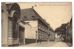 BELGIQUE - LOUVAIN Rue De Namur, Hospice Des Vieillards Et Calvaire - Leuven