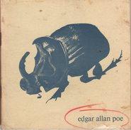 Livre Sur Edgar Allan Poe De L'exposiotn Du Centre Culturel Américain (21 Nov.-21 Déc. 1968) - Poésie, Illustrations, - Sport
