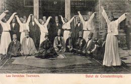 CONSTANTINOPLE  Les Derviches Tourneurs   ........... - Turchia