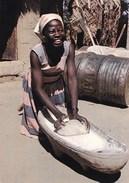 AFRIQUE/FABRICATION DU PAIN (dil321) - Cartes Postales