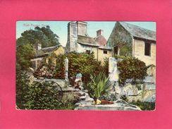 ROYAUME-UNI BERMUDES, Aunt Peggies House, Bermuda, 1911,  Animée,  () - Reino Unido