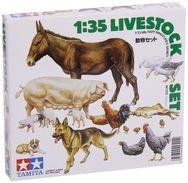 Livestock Set 1/35 ( Tamiya ) - Military Vehicles