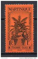2/ Martinique Taxe 20  Neuf  XX  , Cote  4,50€ , Disperse Trés Grosse Collection ! - Martinique (1886-1947)