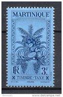 2/ Martinique Taxe 22  Neuf  XX  , Cote  4,50€ , Disperse Trés Grosse Collection ! - Martinique (1886-1947)