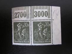 Deutsches Reich Nr. 243 PAAR Postfrisch** (B45) - Allemagne