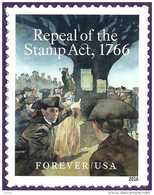 U.S.A. 2016. Scott #. 250TH ANNIVERSARY OF REPEAL OF THE STAMP ACT OF 1766. Neuf, MNH-VF (**) - Neufs