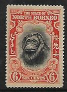 North Borneo: 1931, 50th Anniversary  Of North Borneo Co. 6 Cents, Orang-Utan, Unused, No Postmark, No Gum - North Borneo (...-1963)