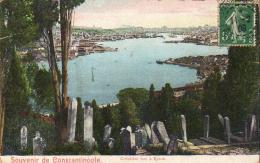 TURQUIE  CONSTANTINOPLE  Cimetière Turc à Eyoub - Turchia
