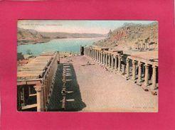 EGYPTE ISLAND PHYLAE, Colonnades, (F. Fiorillo) - Egypte