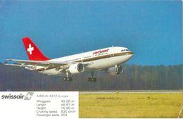Swissair - Airbus A310-Europe             1992 - 1946-....: Moderne