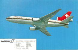Swissair - DC 10-30 HB-IHB             1992 - 1946-....: Moderne