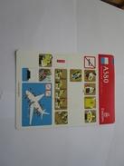Safety Card - Carte De Sécurité - Emirates A380 - Non Classés