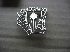 Pin's De La Des 2 Tours De La Ville De CHICAGO - Städte