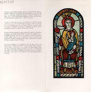 Encart - FDC - GD PTT - Timbre Pro Patria 1969 De 50+20c - Vierge Et L'Enfant De E. WITZIG - 1969 - FDC