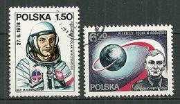 POLAND Oblitéré 2390-2291 Collaboration Intercosmos Avec URSS Hermaszewski Cosmonaute Espace - 1944-.... République