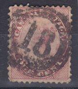 MICHEL NUM 10 - COTE 40 EURO - ANNEE 1859 - EN L'ETAT - 1851-1902 Reign Of Victoria