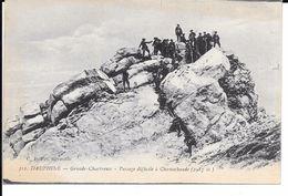 "MILITARIA (14-18) BELLE CPA ""CHASSEURS ALPINS"" (A LIRE) - Guerre 1914-18"
