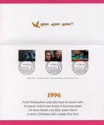 Encart - FDC - Centenaire Du Cinéma - Philatélie - Bern - 1995 - FDC
