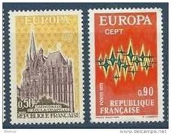 """FR YT 1714 & 1715 """" Europa """" 1972 Neuf** - Nuovi"""