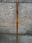 Ancienne Canne épée En Bambou J.Steiner Collection Déco - Art Populaire