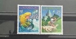 Luxembourg, 1997, Mi: 1418/19 (MNH) - Honden