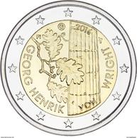 Finlândia 2euro  2016  - Georg Henrik -  UNC - Finlande