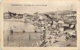 -dpts Div.-ref-RR95- Bouches Du Rhone - Marseille - Plage De La Pointe Rouge - - Autres