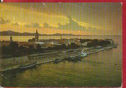 ZADAR  CROATIA POSTCARD USED - Croatie