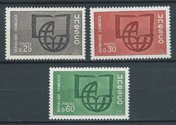 FRANCE 1966 . Service N°s 36 , 37 Et 38 . Neufs ** (MNH) - Officials