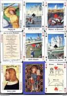 Jeu De 54 Cartes Le Jeu Gothique - Histoire De France Et Des Français - 54 Cartes