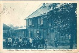 BELGIQUE CAMP ELSENBORN Cantine Restaurant Militaires - Elsenborn (camp)