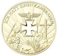 Medalla Ejército Whermacht. Cruz De Hierro. Alemania. I Y II Guerras Mundiales Conmemorativa. 1914-1945 - Alemania