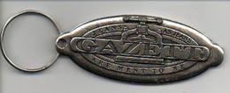 Sleutelhanger Porte Clef Porte Cle GAZETT Jeans Reclame   Keyholder - Porte-clefs