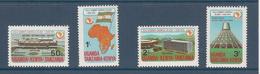 1975 Kenya Uganda Tanzania OAU Conference Flags Airport  Complete Set Of  4 MNH - Kenya, Uganda & Tanzania