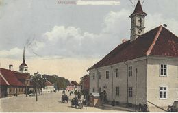 Ak Arensburg,Strassenansicht ,Militär - Estonie