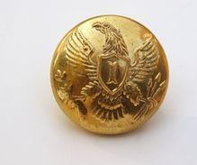 Boton Oficial De Infantería. Estados Unidos De América. El Norte. Guerra De Secesion. 1861-1865. Réplica - Botones