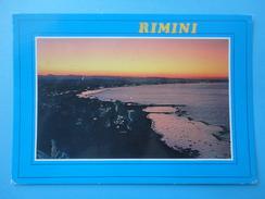 Rimini - Controluce - Panorama Al Tramonto - Controluce