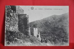 Vizzavona - L'entrée Du Fort - France