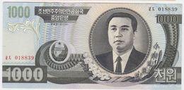 Korea North P 45 A - 1000 1.000 Won 2002 - UNC - Corea Del Nord