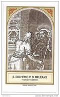 San Eucherio - Vescovo Di Orlèans - Saint Trond - Devotion Images
